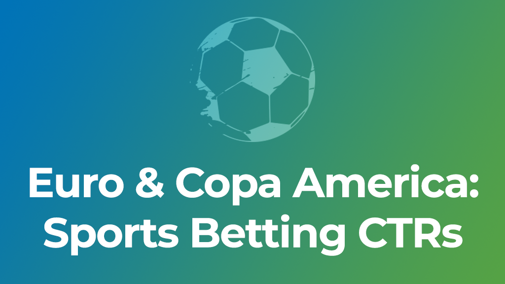 Sports betting CTRs