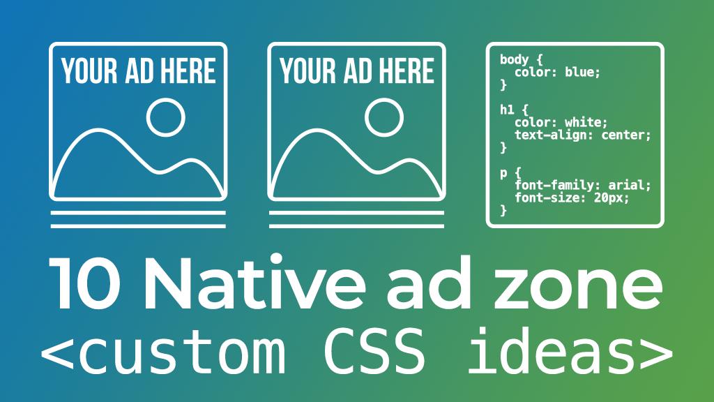 Native Custom CSS